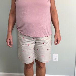TALBOTS Flamingo shorts